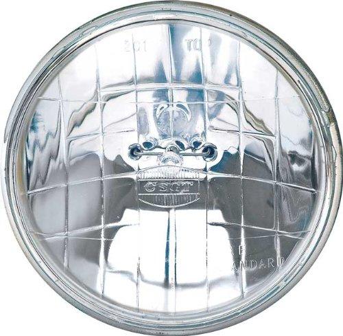 OCTANE LIGHTING 5-34 12V Halogen Crystal Clear HIGH Sealed Beam Glass Headlight Headlamp Light Bulb 12 volt
