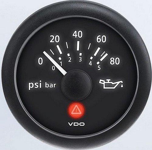 VDO A2C53413151-S Oil Pressure Gauge