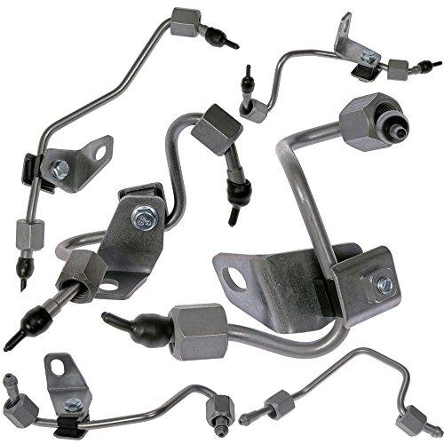 Fuel Injector Lines Set of 6 for 03-09 Dodge Cummins 59L Diesel