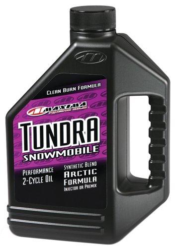 Maxima 249128 Tundra Snowmobile 2-Stroke PremixInjector Oil - 1 Gallon Bottle