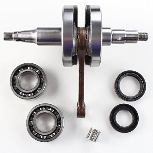 Niche Industries 1262 Yamaha PW80 Y-Zinger Crankshaft Assembly 1983-2006