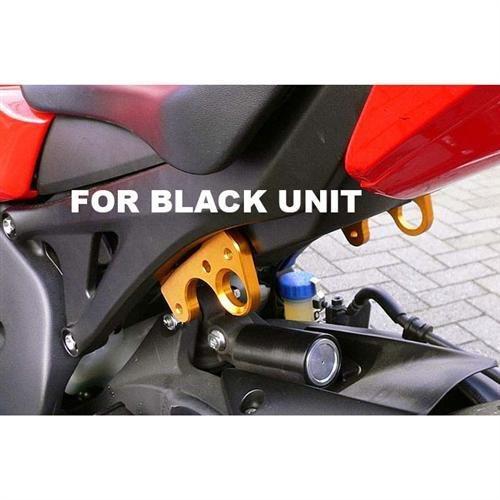 Sato Racing Street Hooks Billet Aluminum Anodized Black for Honda 08 CBR1000RR Non ABS H-CBR108HOOKS-BK