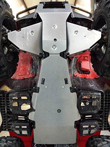 Aluminum Products - Honda Foreman 450-14-17-SPD - Aluminum Skid Plate Package Honda Foreman 500-2014-2017-Special Package Deal