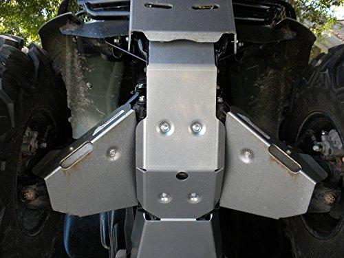 Aluminum Products - Honda Rancher 420 Straight Axle 2007-2013-SPD - Aluminum Skid Plate Package Honda Rancher 420 SA-2007-2013