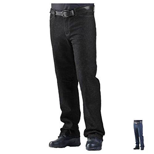 Drayko Renegade Riding Jeans Men's Denim Road Race Motorcycle Pants - Black / Size 34