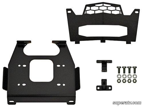 Polaris RZR 900  RZR S 900 Winch Mounting Plate