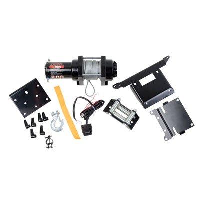 Tusk 2500 lb Winch With Mounting Plate Kit - POLARIS RZR XP 900 XP4 900 2011-2014
