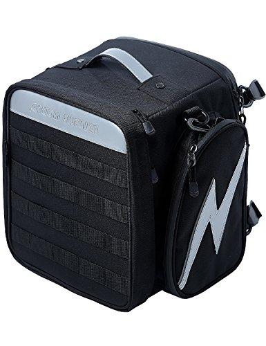 Extremeworld Motorcycle TailSeat Bag B9111Black