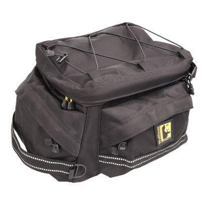 Wolfman Wolf Adventure Bike Motorcycle Tail Bag - Black