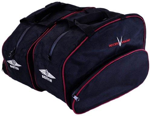 Bestem LGVV-VV-SDL Black Saddlebag Sideliners for Victory Vision Pair