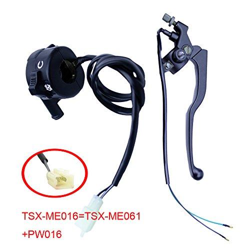 FLYPIG Throttle Housing Case Kill Switch Brake Lever for Yamaha PW80 PW 80