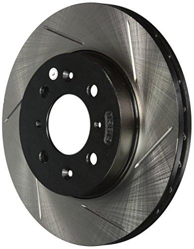 Power Slot 12640021SL Front Slotted Disc Brake Rotor for Honda Acura