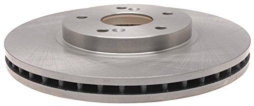 ACDelco 18A1095A Advantage Non-Coated Front Disc Brake Rotor