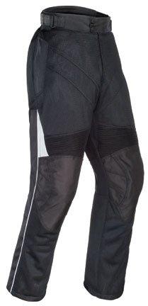 Tourmaster Mens Venture Air Motorcycle Pants Black Large L
