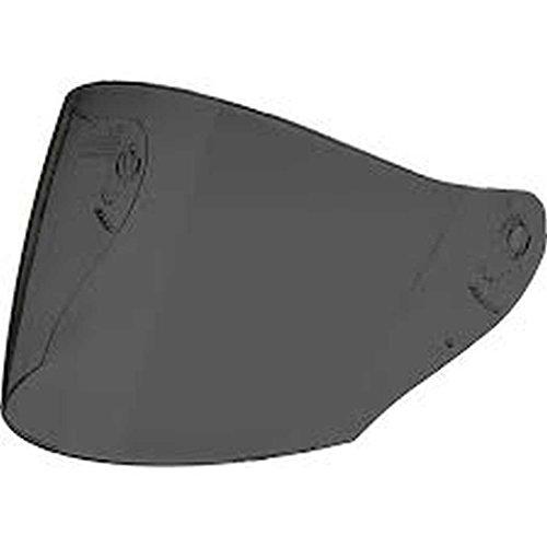 HJC Helmets HJ-17R Unisex-Adult Anti-Scratch Replacement Face Shield Dark Smoke One Size