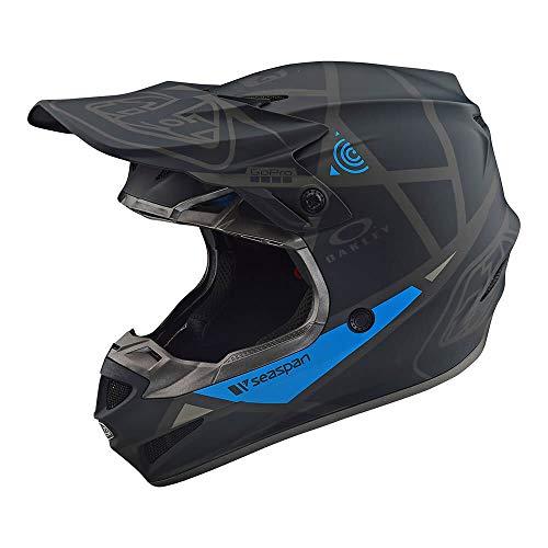 Troy Lee Designs SE4 Polyacrylite Metric Off-Road Motocross Helmet Black X-Large