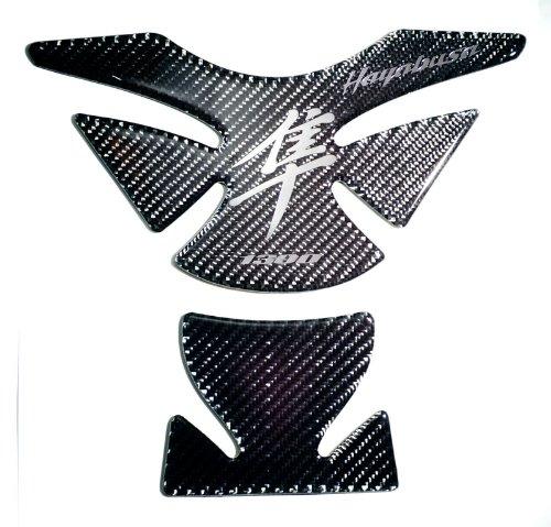 Suzuki Hayabusa GSX1300R Carbon Fiber Motorcycle Tank Protector Pad