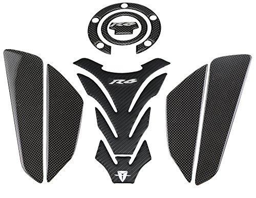 PRO-KODASKIN Carbon Tank Pad Sticker Decal Emblem GRIPPER STOMP GRIPS EASY for Yamaha YZF600 R6