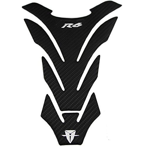 PRO-KODASKIN Carbon Tank Pad Sticker Decal emblem GRIPPER STOMP GRIPS EASY for YZF600 R6