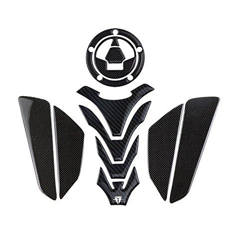 PRO-KODASKIN Motorcycle 3D Real Carbon Tank Pad Sticker Decal Emblem for KAWASAKI Versys650 2017