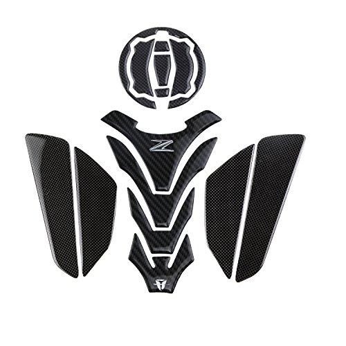 PRO-KODASKIN Motorcycle Real Carbon Tank Pad Sticker Decal Emblem GRIPPER STOMP GRIPS EASY for KAWASAKI Z900 2017 Z650 NINJA650
