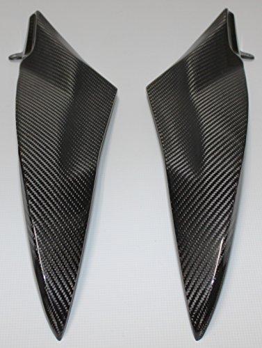 Carbon Fiber Racing YRY30CFFG Carbon Fiber  Fiberglass Yamaha YZF R6 2006-2007 Gas Tank Side Panels