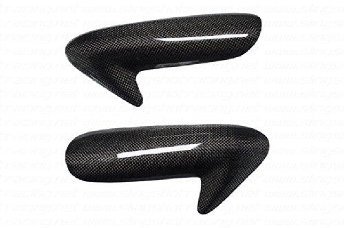 Ducati 84810981198 Carbon Fiber Fibre Fuel Gas Tank Side Protector Cover Guards