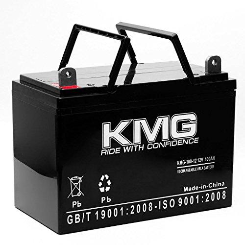 KMG 12V 100Ah Replacement Battery for C&D Batteries BBG-160RT BBG-165RT