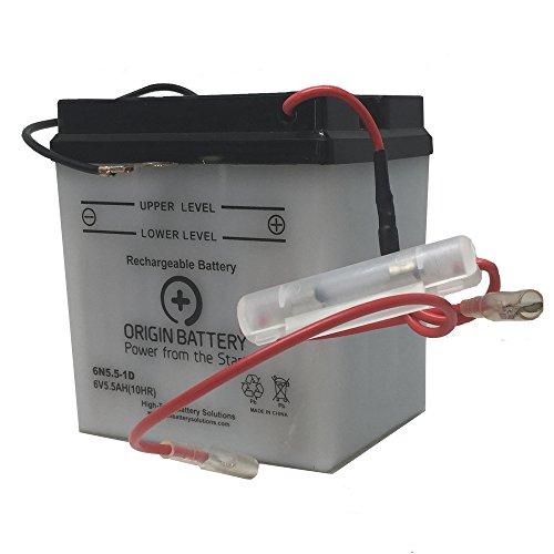 Origin 6N55-1D Battery Replaces Power Source 01-039 XT6N55-1D
