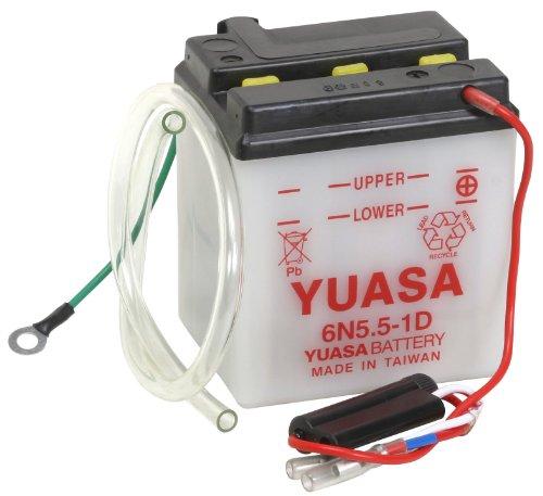 Yuasa YUAM2655B 6N55-1D Battery