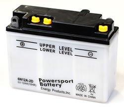 Replacement BATTERY 6N12A-2D POWER SPORT BATTERY Battery