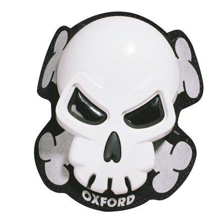 Oxford Skull Knee Sliders (white)