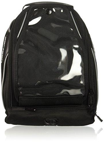 Cortech Super 8230-0505-10 20 Black Low Profile Motorcycle Tank Bag Magnetic Mount