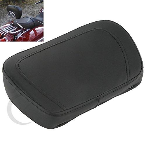 TCMT Detachable Stealth Sissy Bar Backrest Pad For Harley Davidson Touring Street Glide FLHX 1997 1998 1999 2000 2001 2002 2003 2004 2005 2006 2007 2008 2009 2010 2011 12 2013 2014 2015 2016 2017 2018