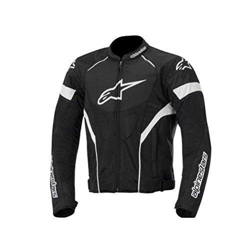 Alpinestars T-GP Plus R Air Mens Street Motorcycle Jackets - BlackWhite  Large