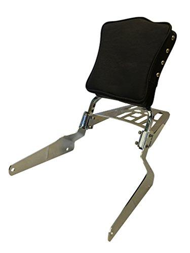 Studded - Sissy Bar Backrest Luggage Rack for 1995-2009 Kawasaki Vulcan EN500 500 LTD EN500A EN500C