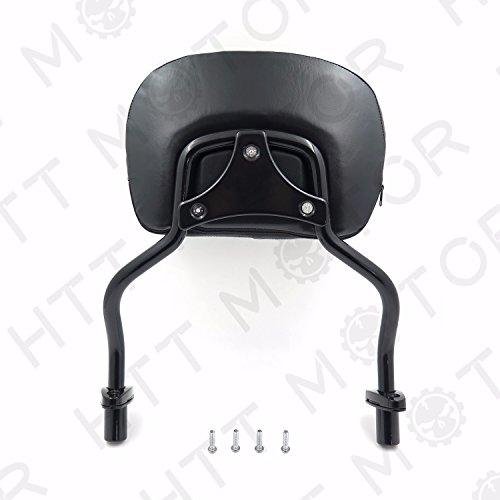 HTTMT Detachable Sissy Bar Pad Backrest For Harley Davidson FLRT Freewheeler 15 16 17