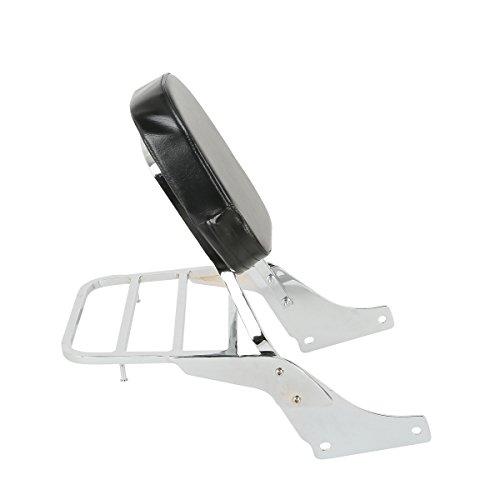 XFMT Backrest Detachable Sissy Bar W Luggage Rack Backrest For Honda Shadow SABRE VT1100 ACE VT1100 All Years