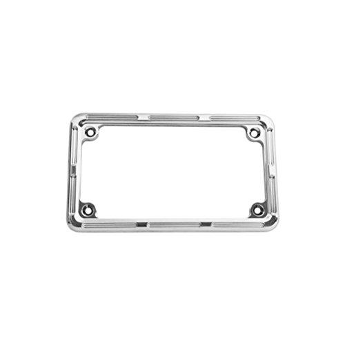 Arlen Ness 12-133 Chrome License Plate Frame