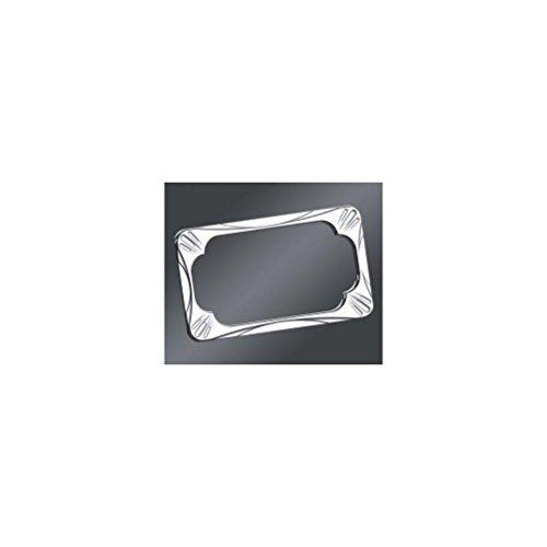 Arlen Ness 12-154 Chrome License Plate Frame