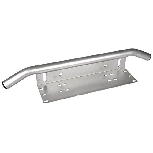 Lightronic Silver Front Bumper License Plate Mount Bracket Holder Bull Bar Style for Off-Road Lights