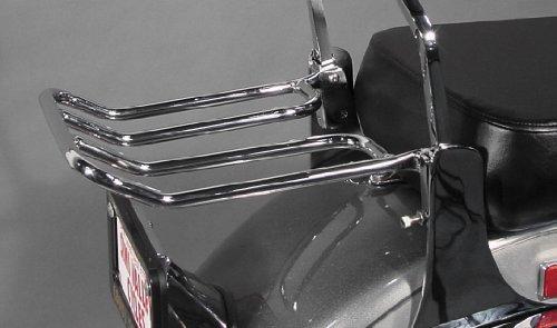 MC Enterprises Universal Sissy Bar Rack for Honda Cruiser Models