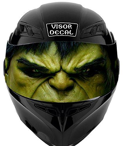 V10 Hulk VISOR TINT DECAL Graphic Sticker Helmet Fits Icon Shoei Bell HJC Oneal Scorpion AGV