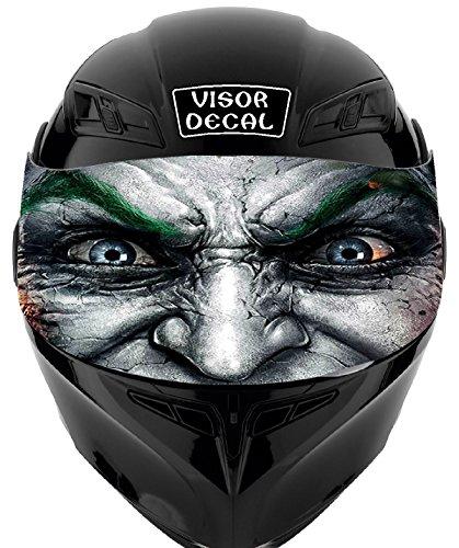 V18 Joker VISOR TINT DECAL Graphic Sticker Helmet Fits Icon Shoei Bell HJC Oneal Scorpion AGV
