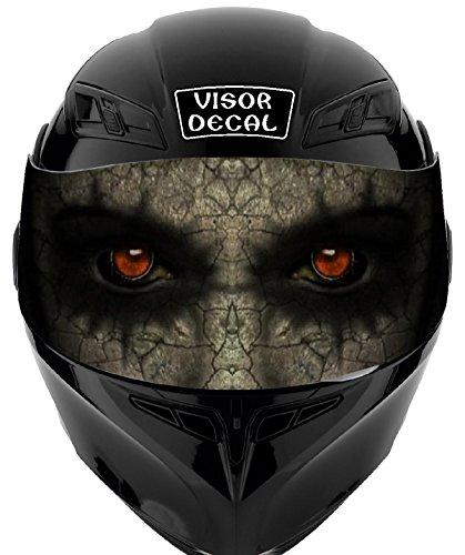 V45 Devil Demon VISOR TINT DECAL Graphic Sticker Helmet Fits Icon Shoei Bell HJC Oneal Scorpion AGV