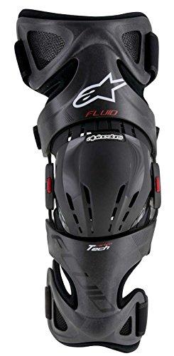 Alpinestars Fluid Tech Carbon Knee Brace-Left-XL2X
