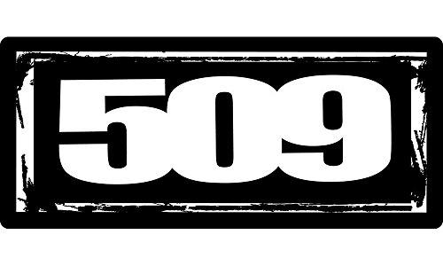 509 Logo 24 Sticker Shop Toolbox Garage Snowmobile Sticker Decal