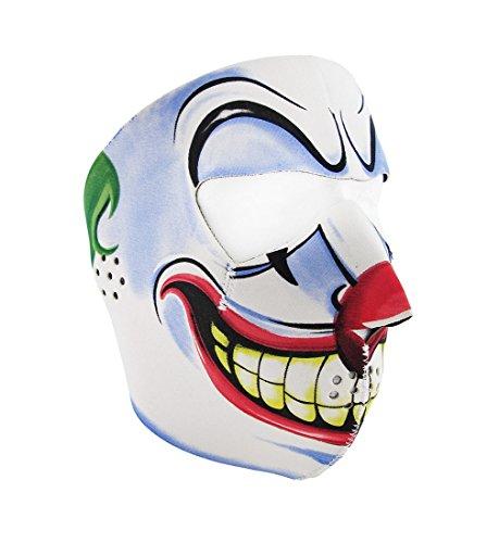 Joker Face Neoprene Motorcycle Face Mask Facemask