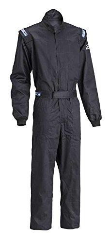 Sparco Mens Suit Driver Black Medium