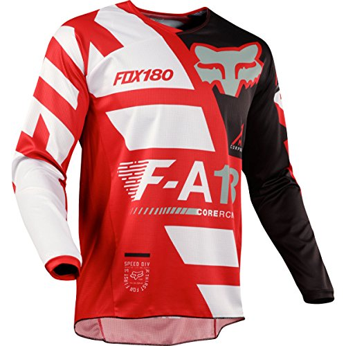 Fox Racing 2018 Youth 180 Sayak Jersey Red- M